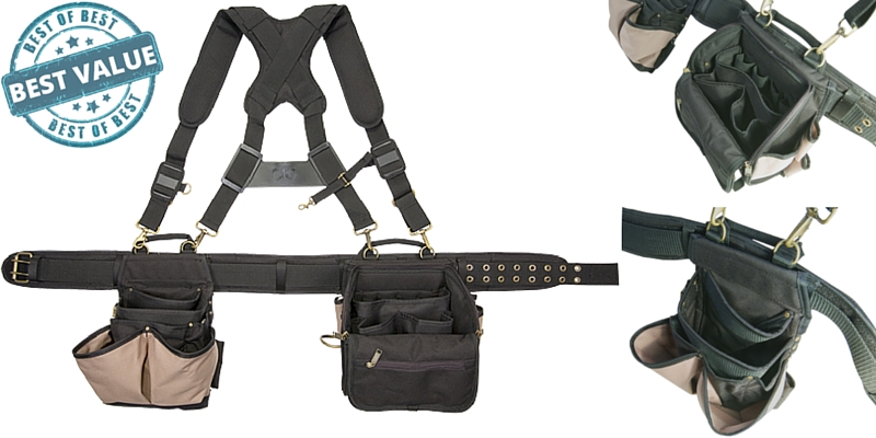 Custom Leathercraft 1608 Electrician Tool Belt