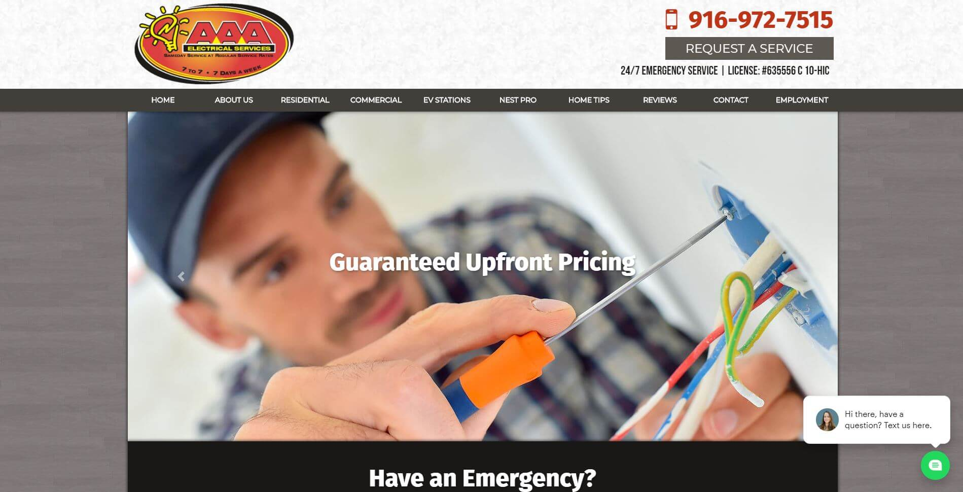 Aaa Electrical Services Electrician In Sacramentno