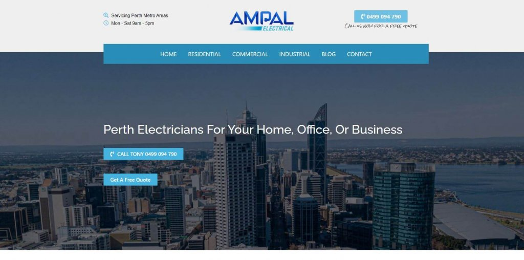 ampal electrical electricians in perth