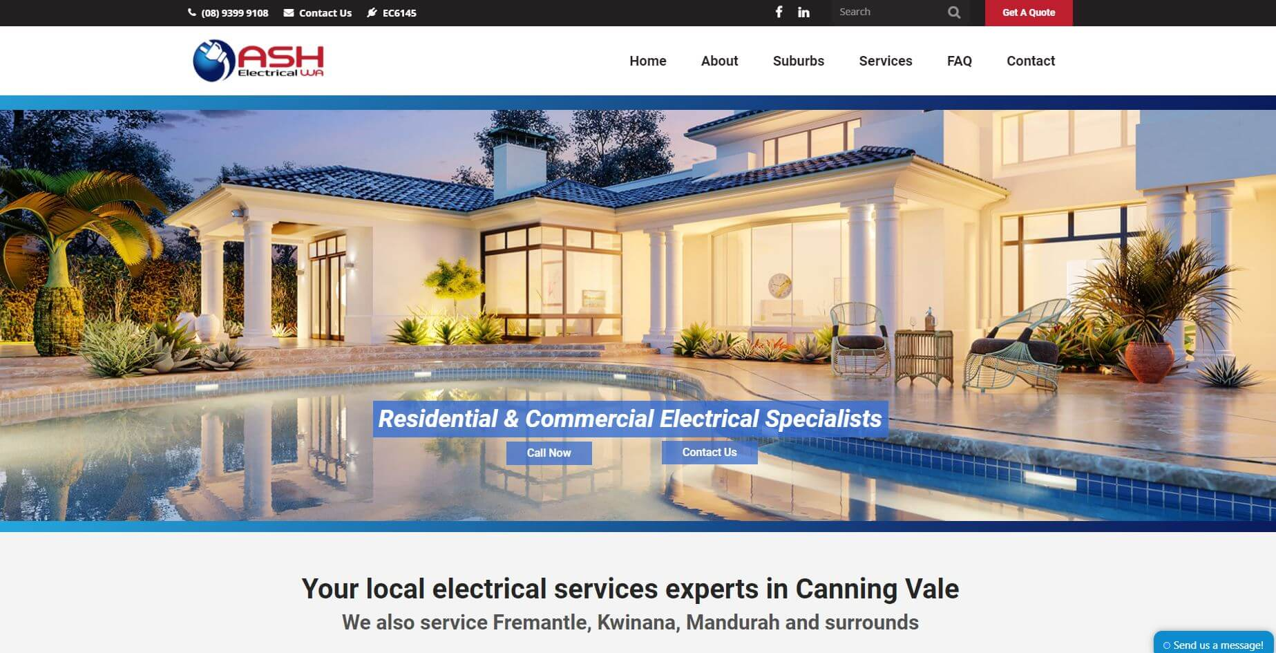 ash electrical wa electricians in perth