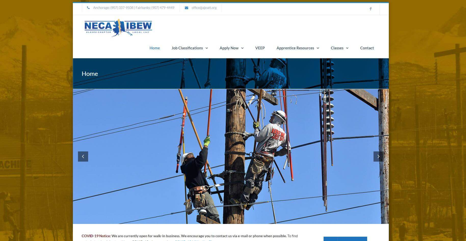 Alaska Electrical Apprenticeship Lineman Schools Usa