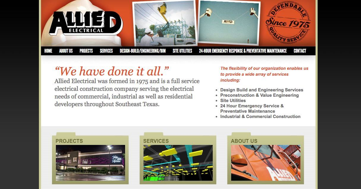 Allied Electrical Electrician Houston