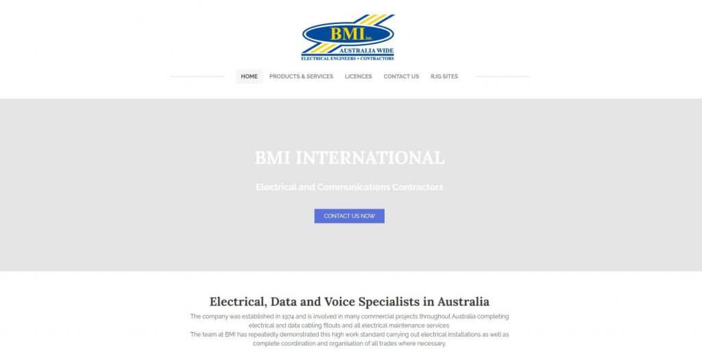 Bmi International Electricians In Melbourne