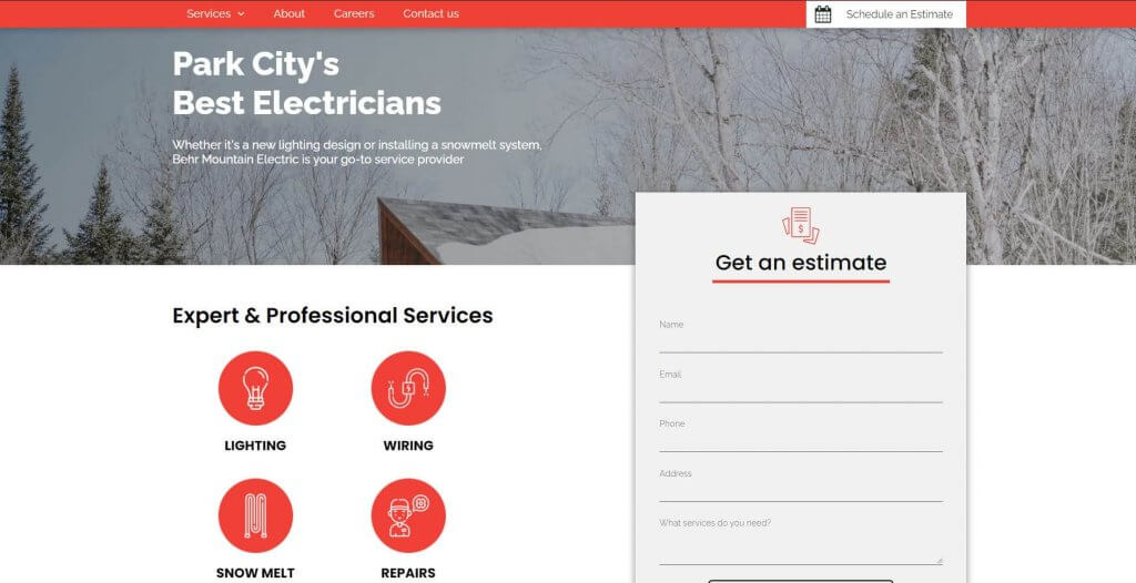 Behr Mountain Electric Electricians Salt Lake City