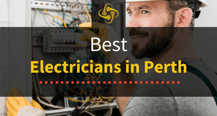 best electricians in perth