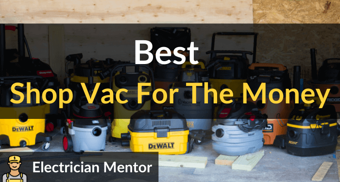 Best Shop Vac For The Money