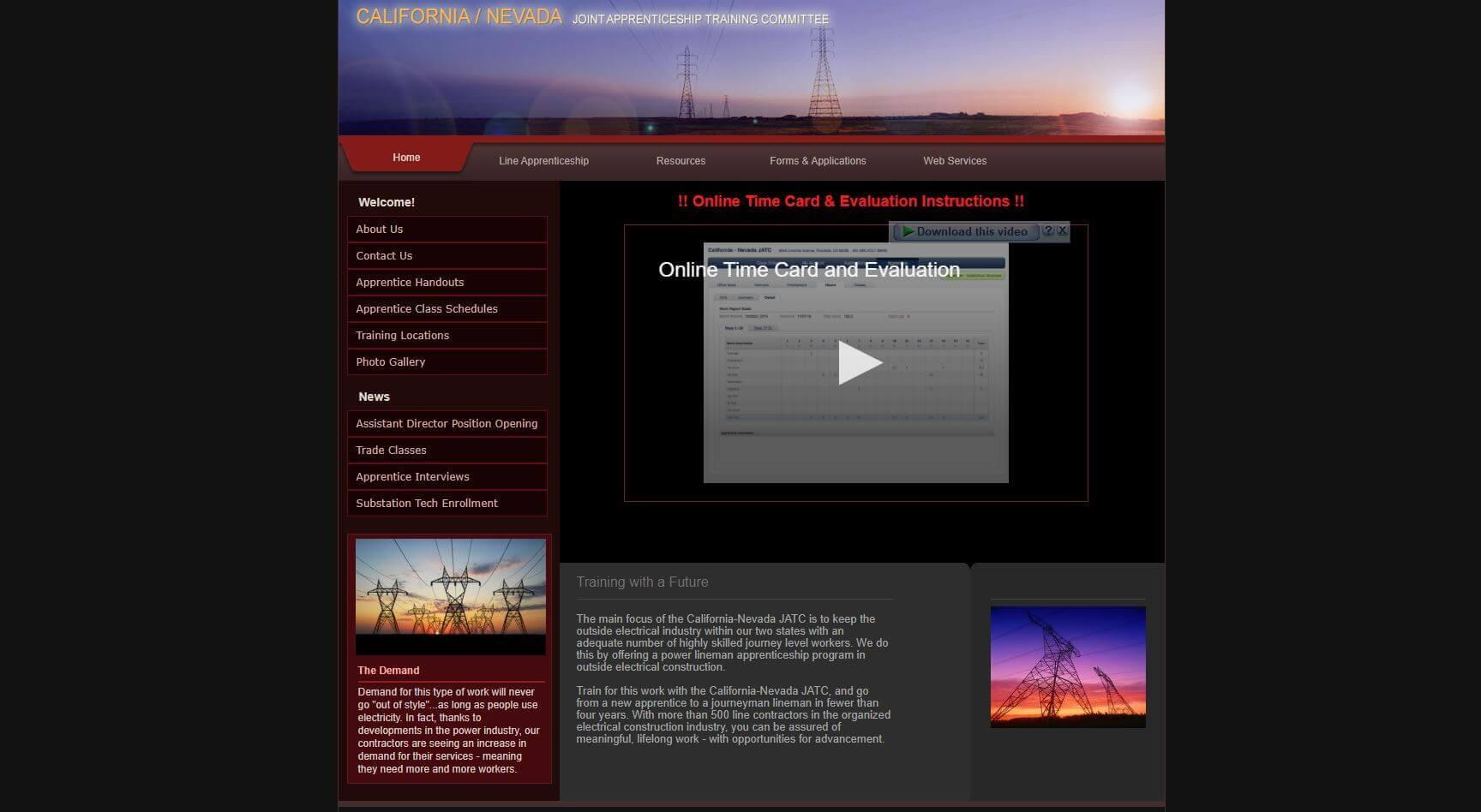 California Nevada Electrical Lineman Schools Usa