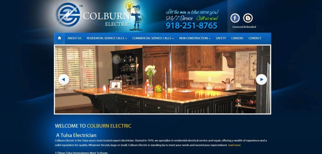 Colburn Electric Electrician In Tulsa