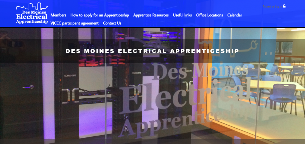 des moines electrical apprenticeship training trust
