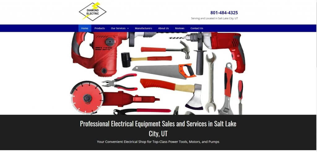 Diamond Electric Electrician Salt Lake City