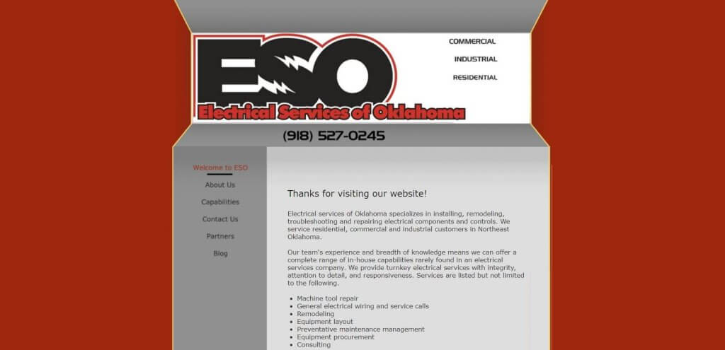 Eso Electrician In Tulsa