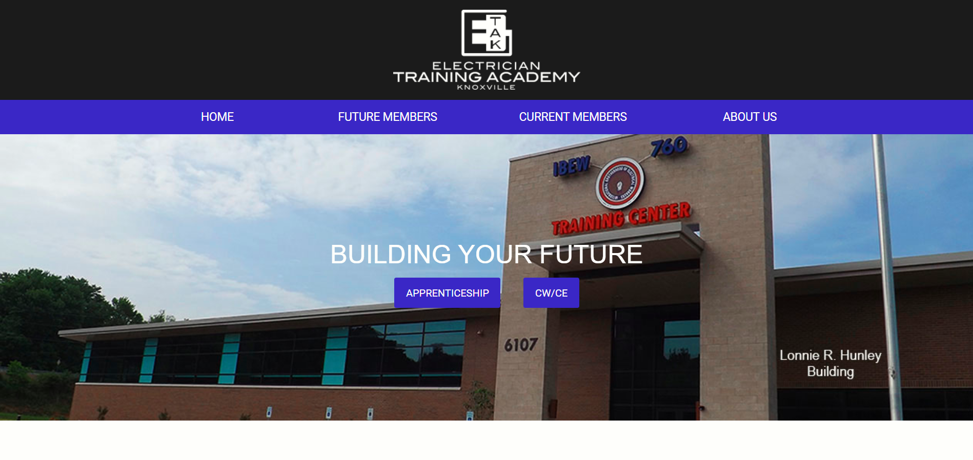 electrician training academy knoxville etak