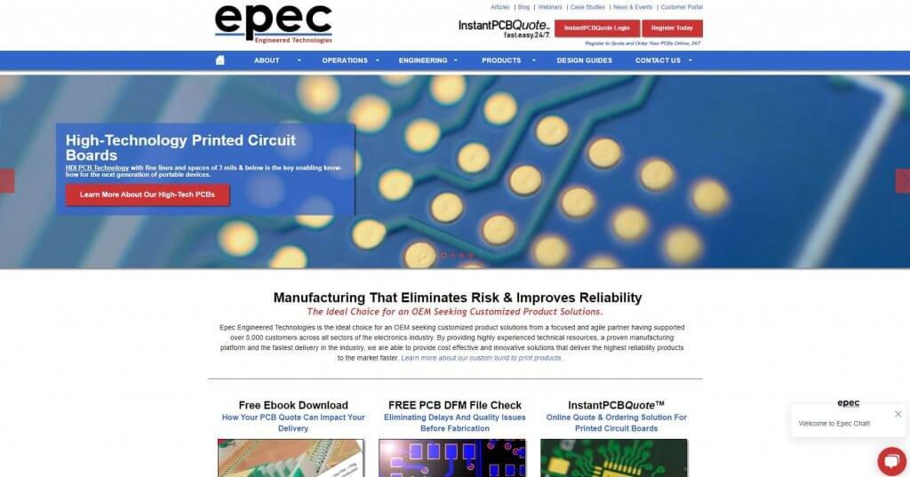Epec Enineered Technologies