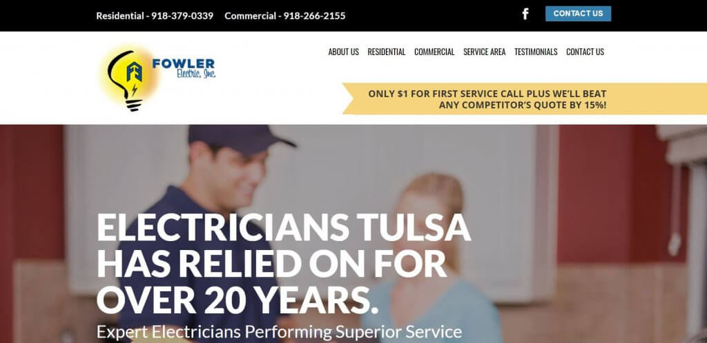 Fowler Electric Electrician In Tulsa