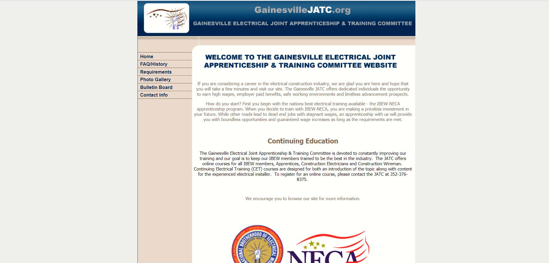 gainesville electrical jatc