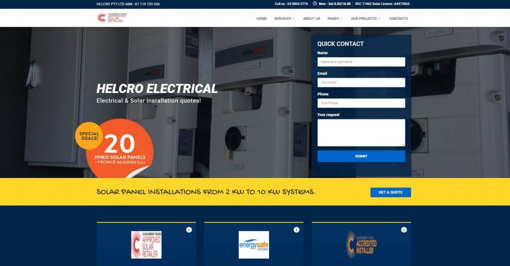 Helcro Electricians In Melbourne