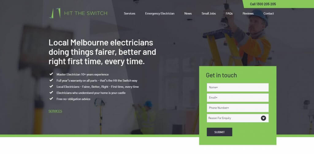 Hit The Switch Electricians In Melbourne