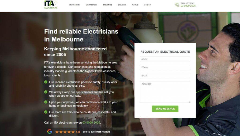 Ita Electricians Electricians In Melbourne