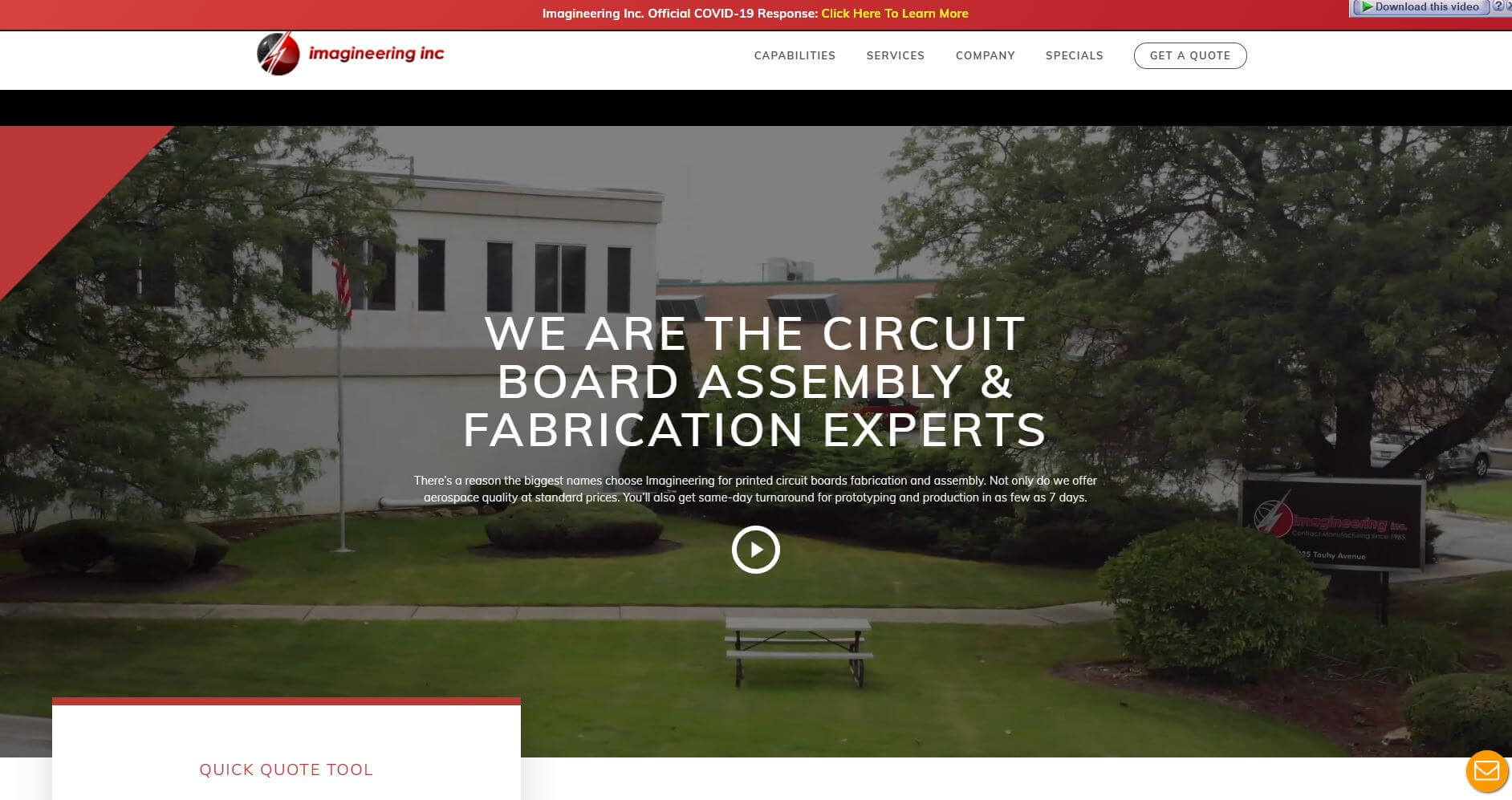 Imagineeering Inc.pcb Manufactures Usa