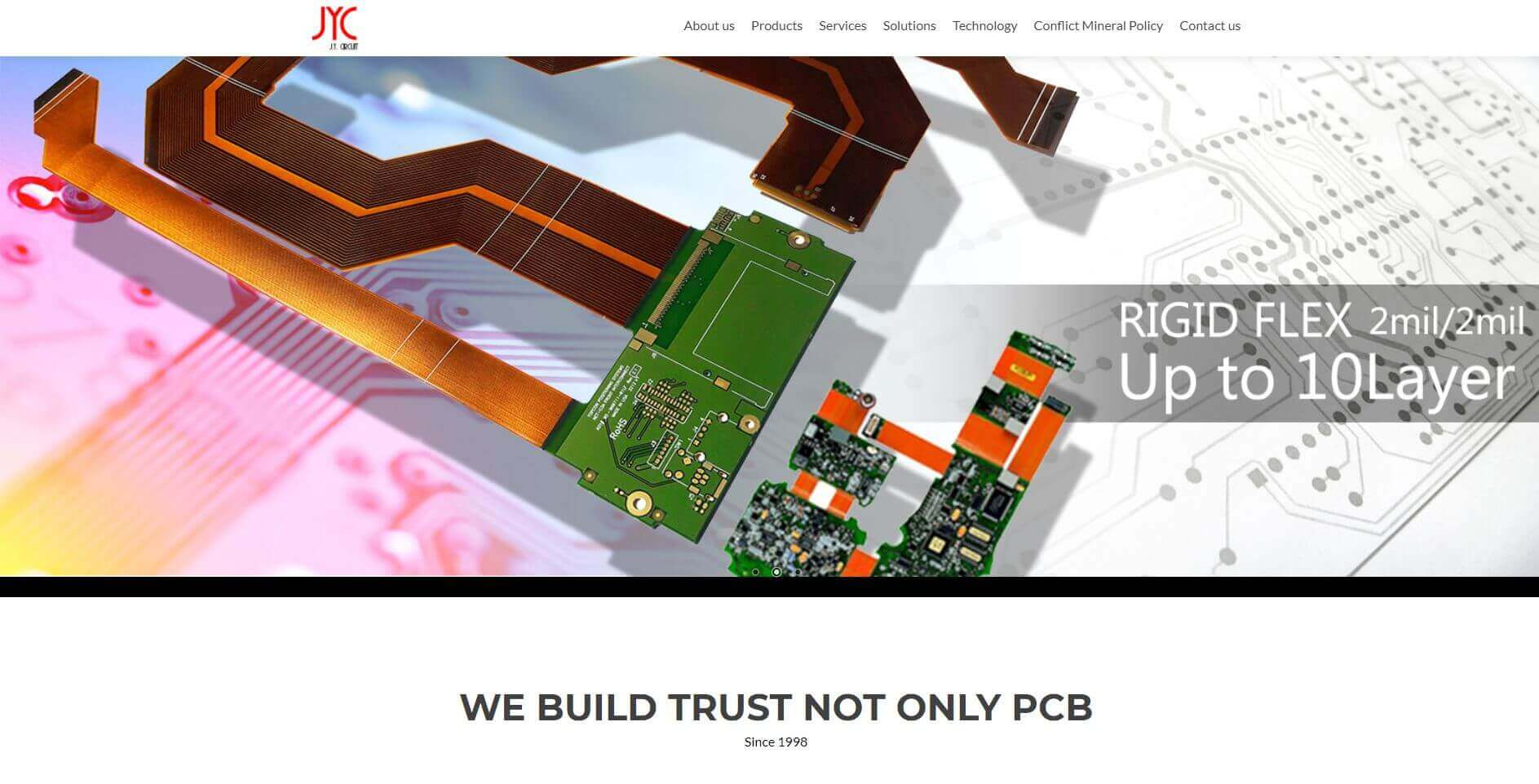 J.y. Circuit Pcb Manufacturers Usa