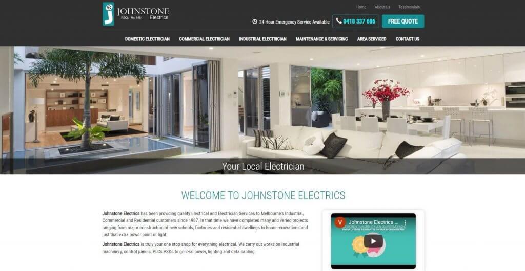 Johnstone Electrics Electricians In Melbourne