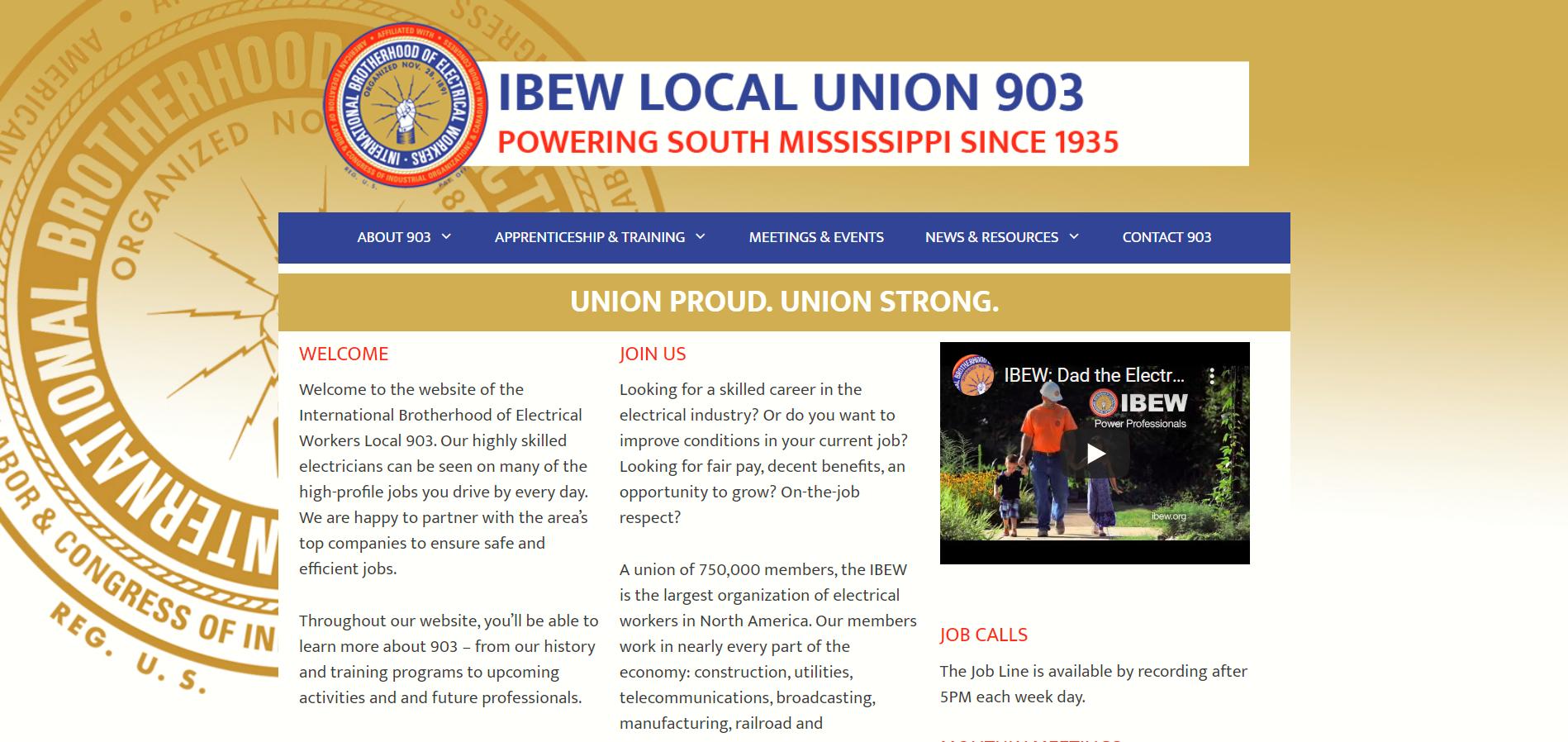 local union 903 ibew jatc