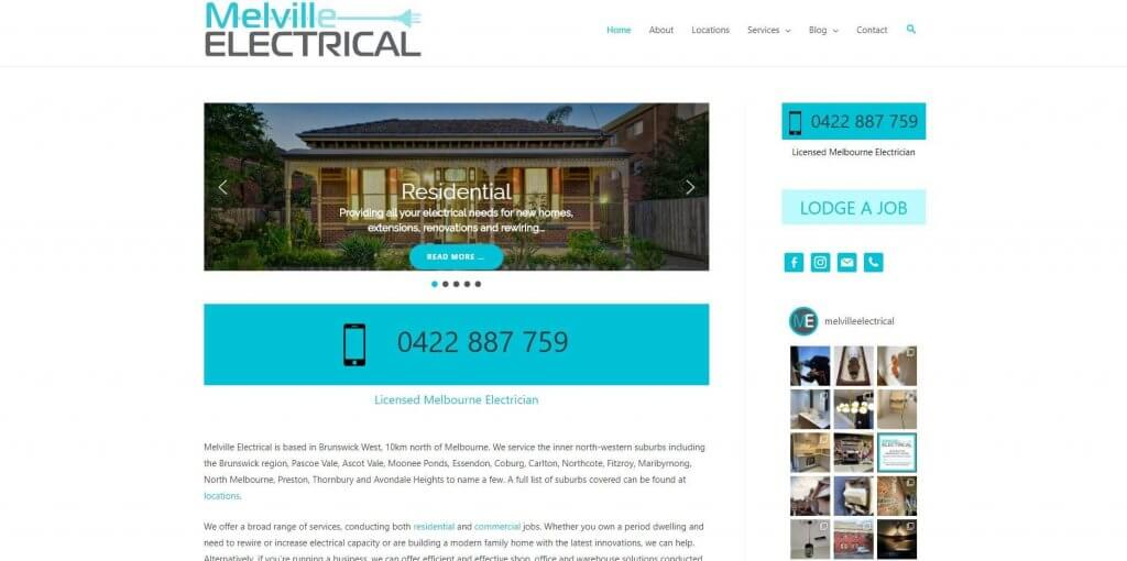 Melville Electrical Electricians In Melbourne