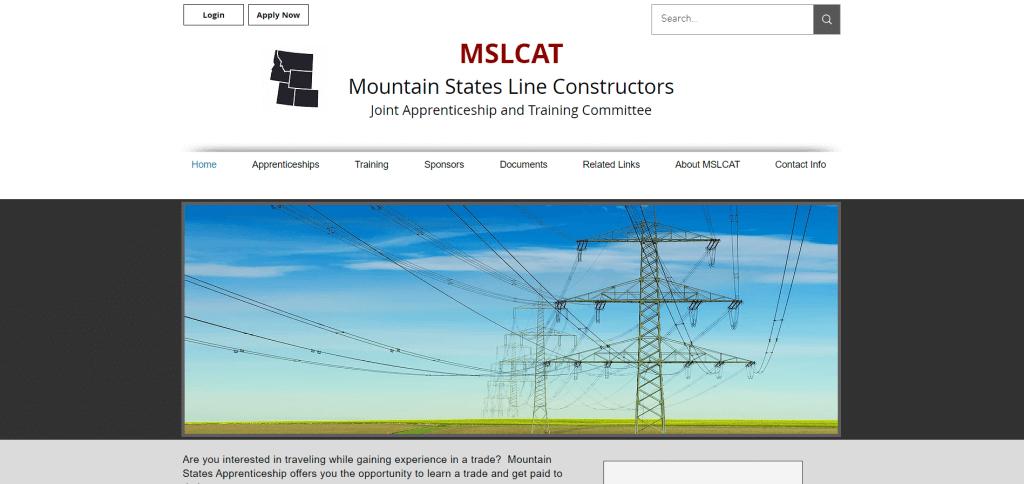 mountain states line constructors ajatc