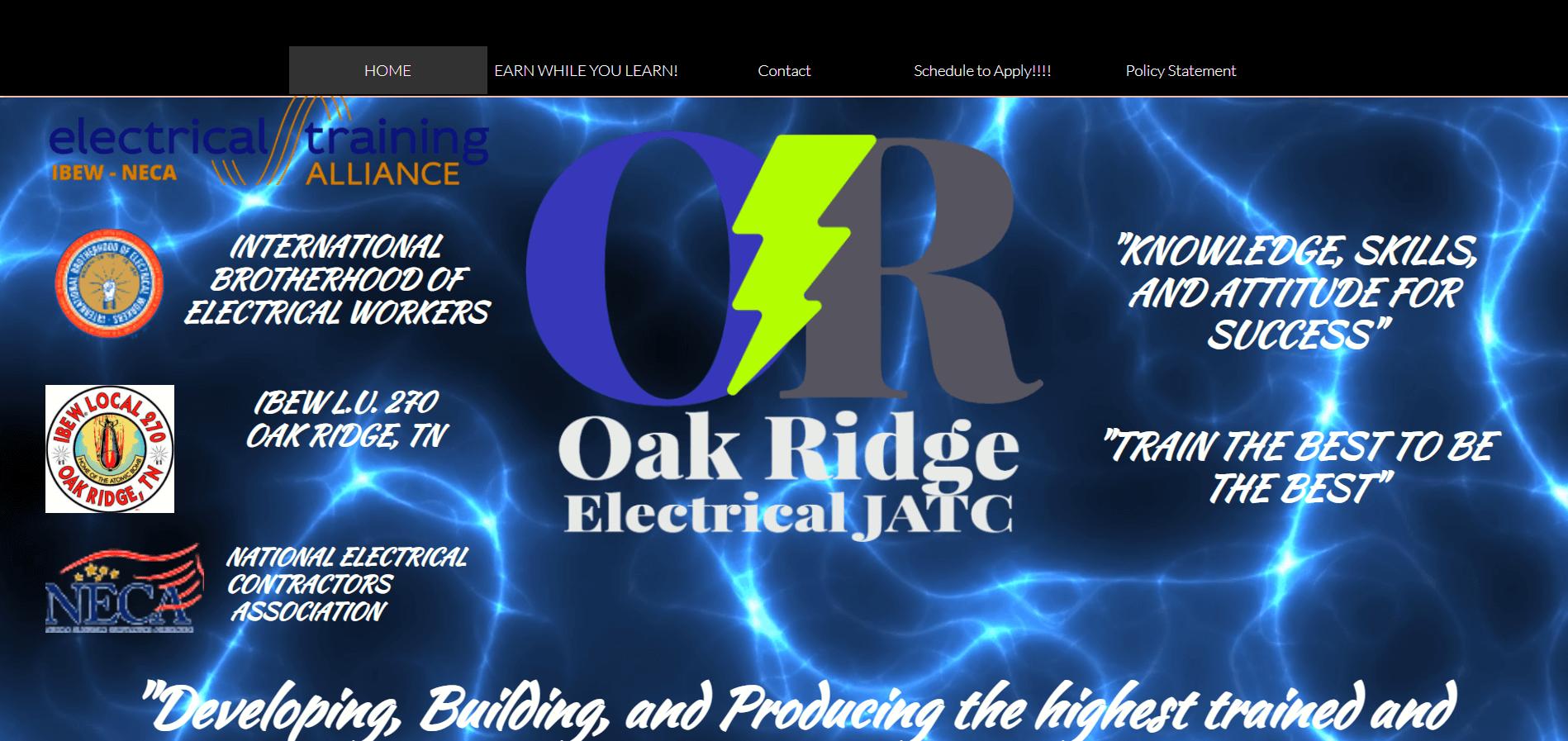 oak ridge electrical jatc
