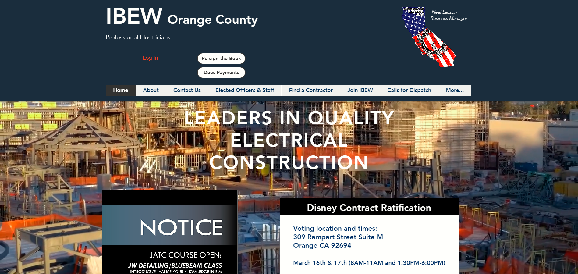 orange county electrical training trust