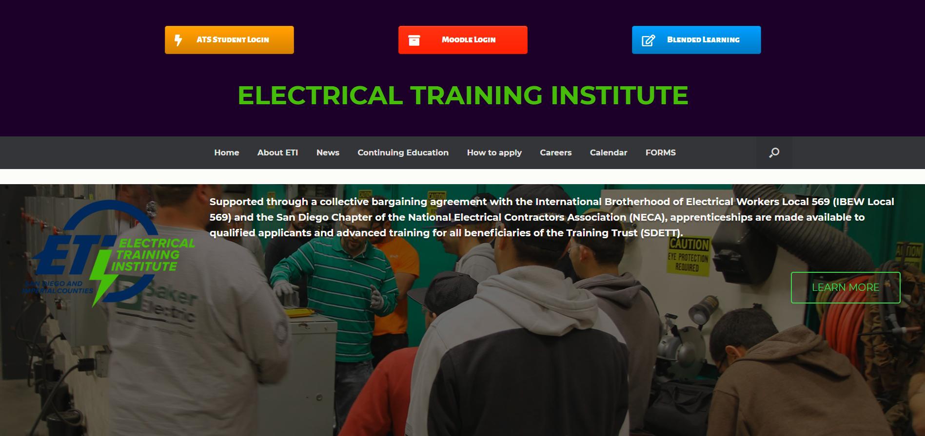 san diego electrical training trust
