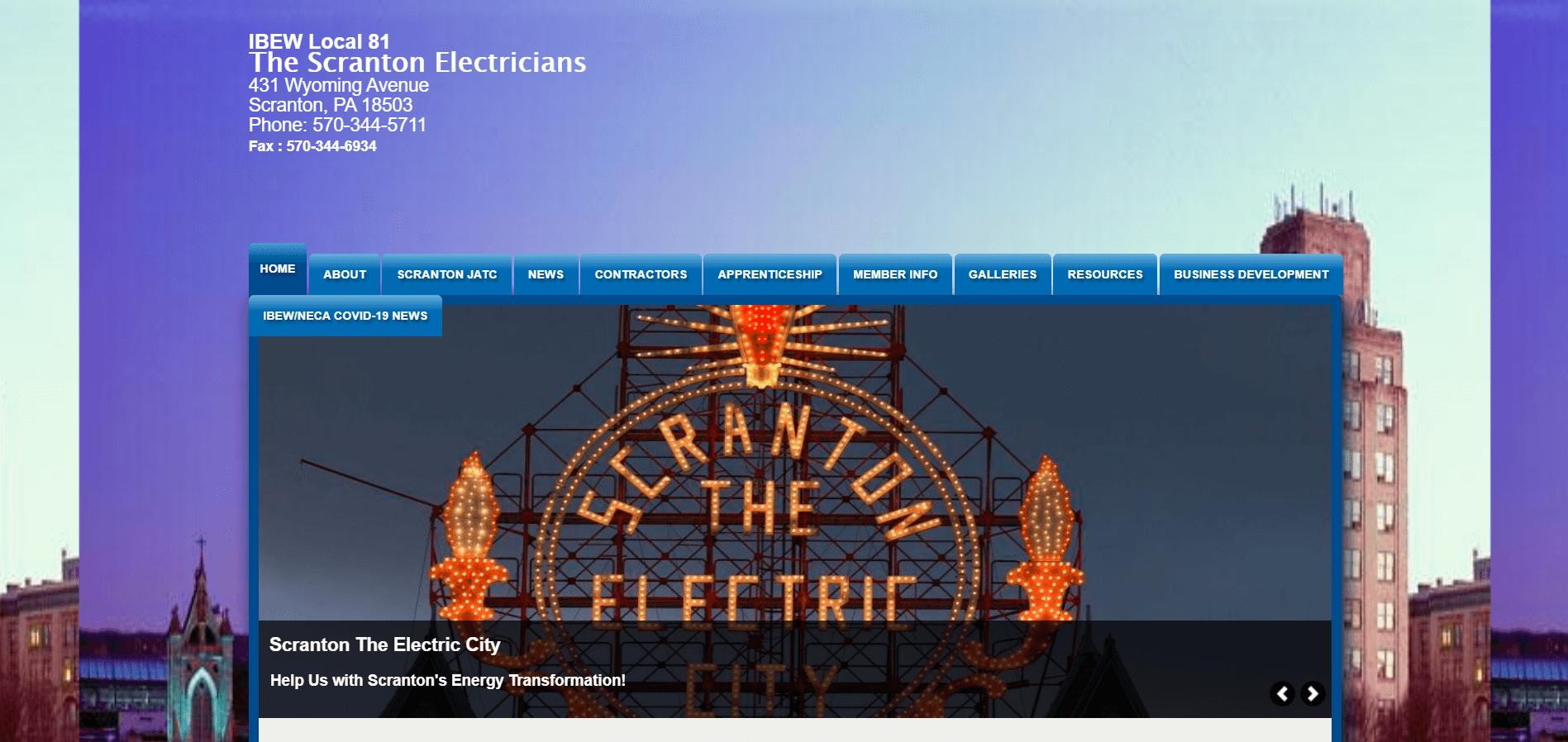 scranton electricians jatc