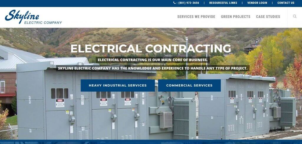 Skyline Electric Company Electrician In Salt Lake City
