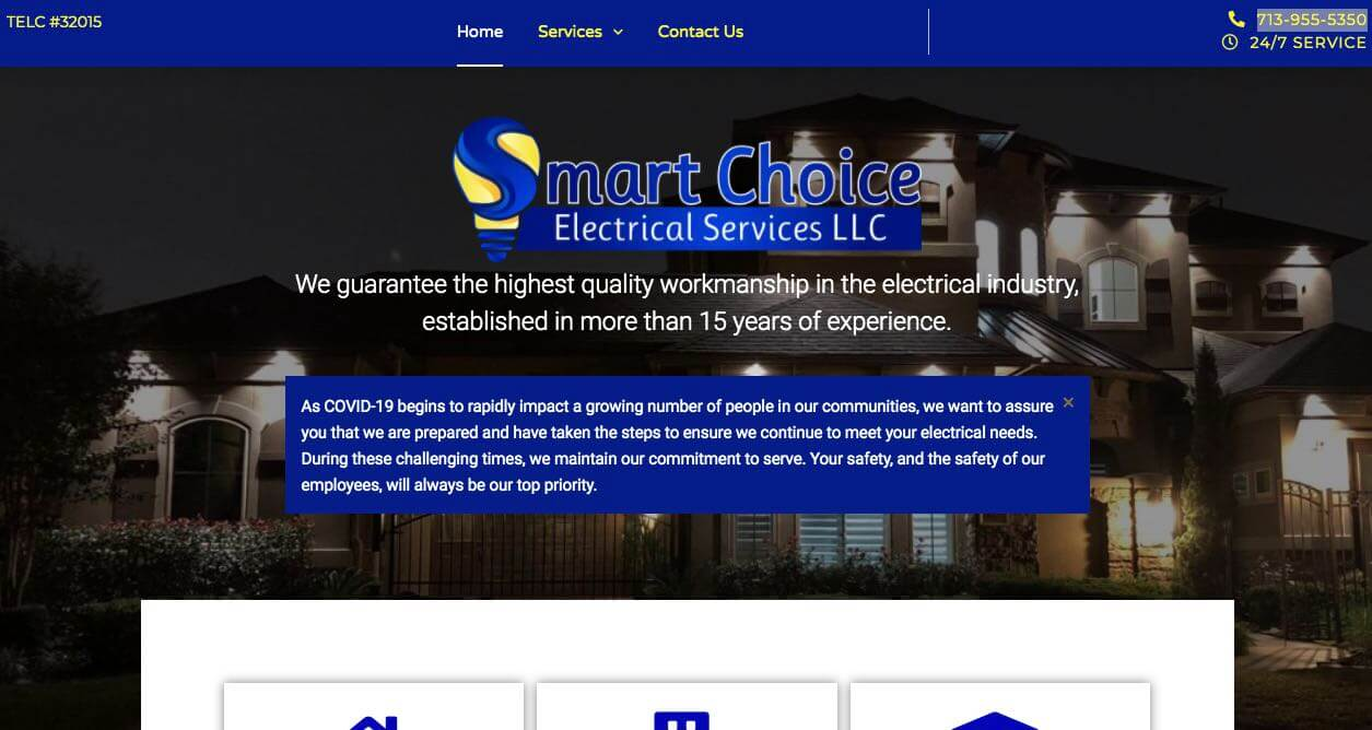 Smart Choice Electrical Electrician Houston