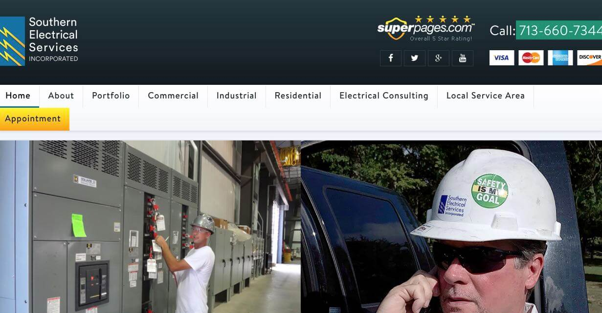 Southern Electrical Services Electrician Houston