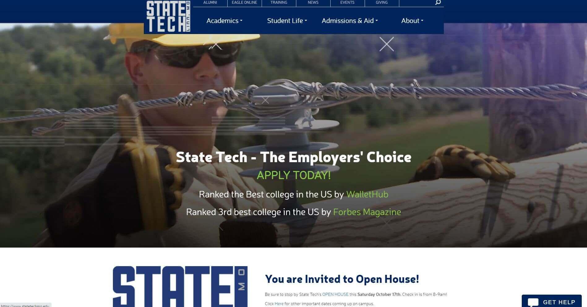 State Technical College Of Missouri Lineman Schools Usa