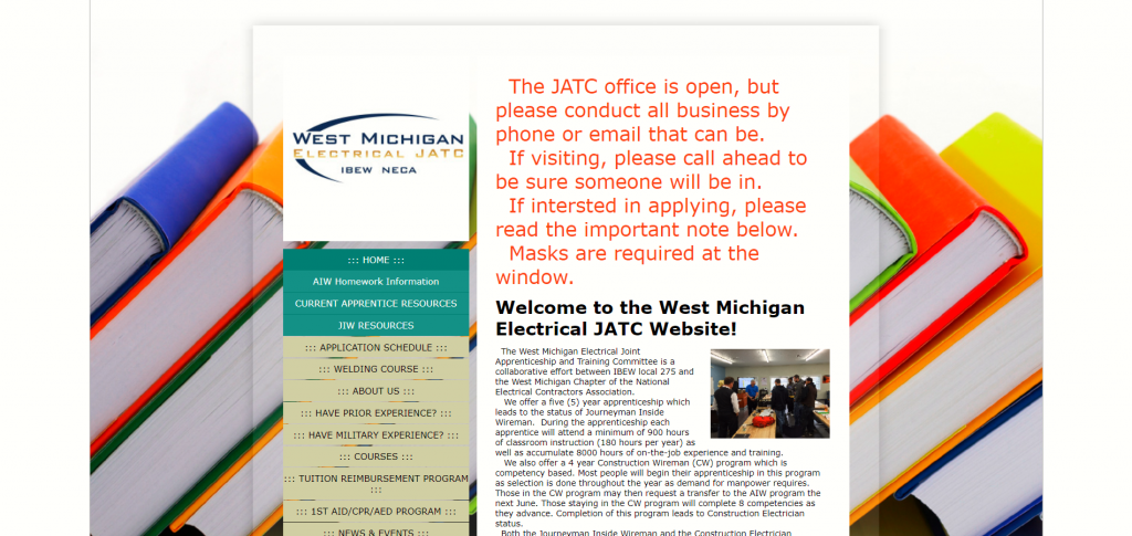 west michigan electrical jatc
