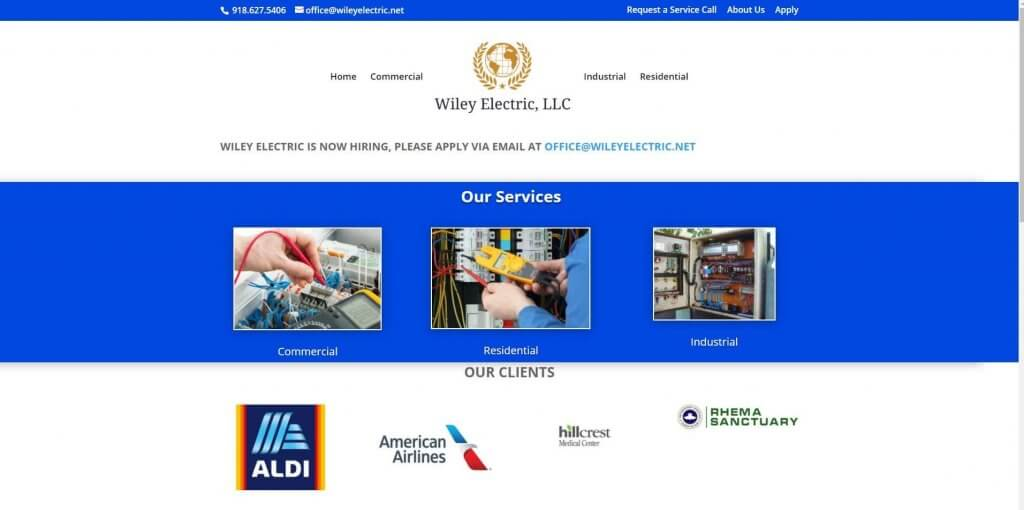 Wiley Electric Electrician In Tulsa