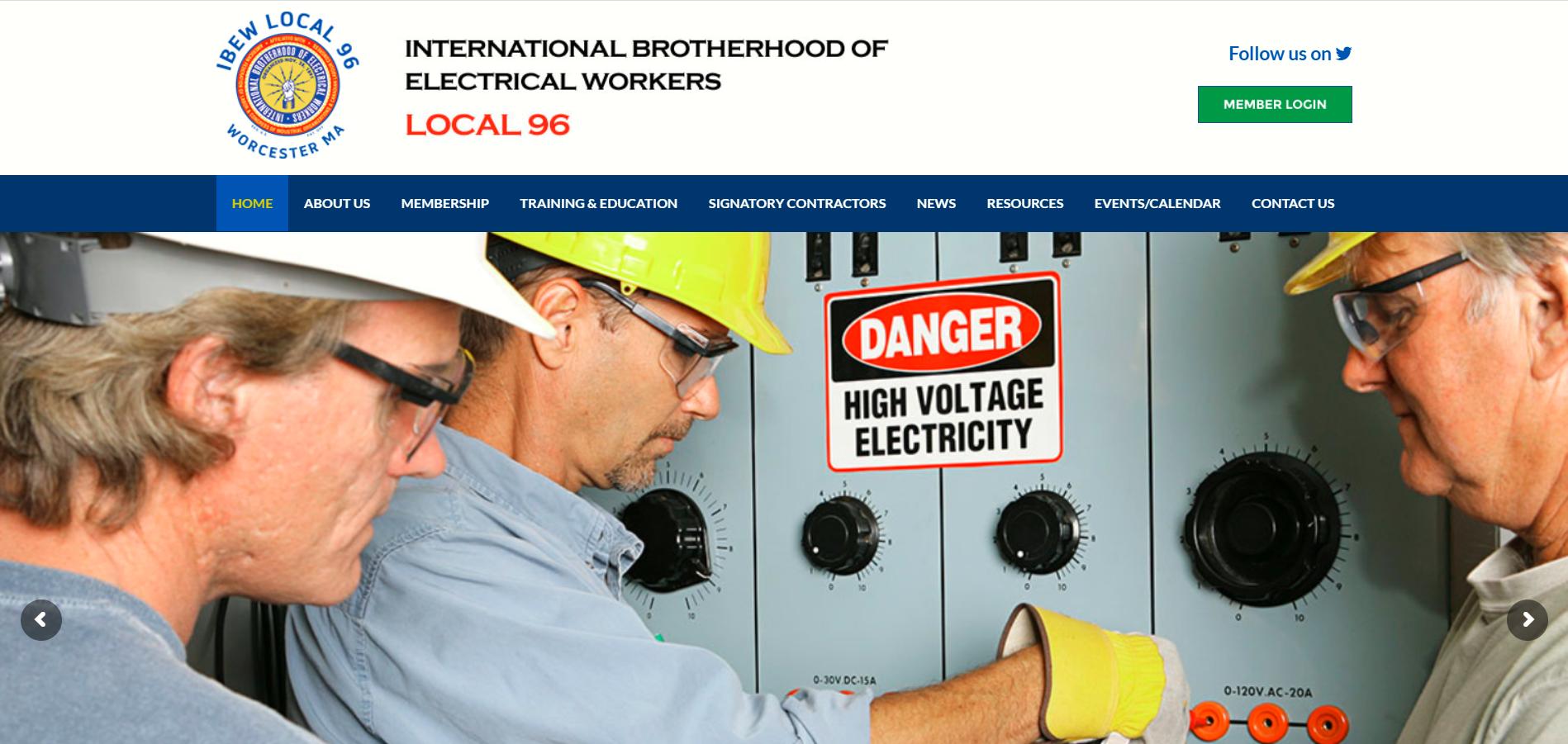 worcester electricians jatc